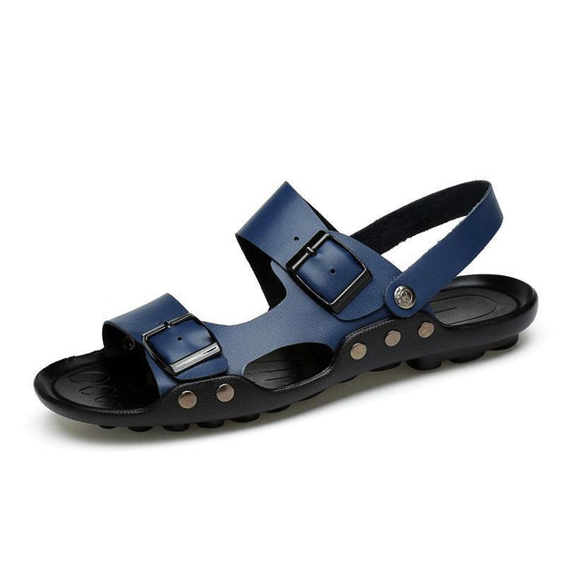 Mens Comfortable Fashion Sandals 128775 Blue / Us 6.5 Men Shoes
