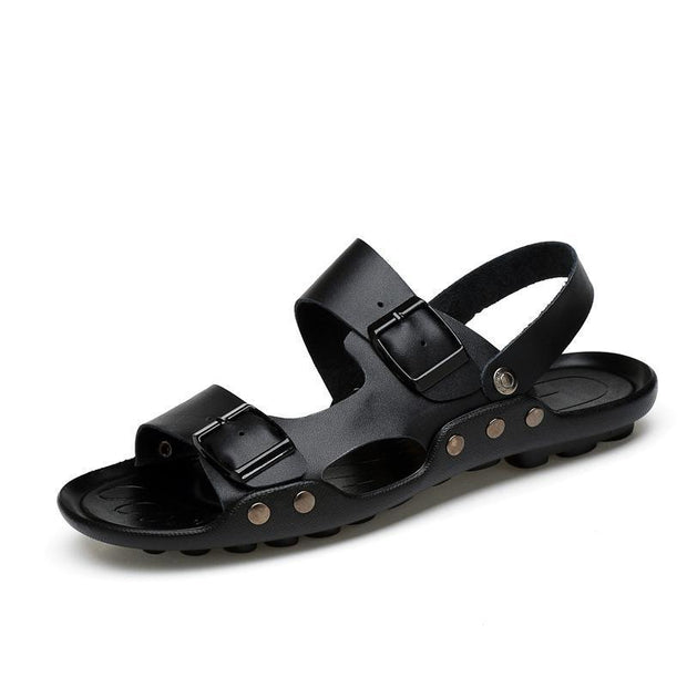 Mens Comfortable Fashion Sandals 128775 Black / Us 6.5 Men Shoes