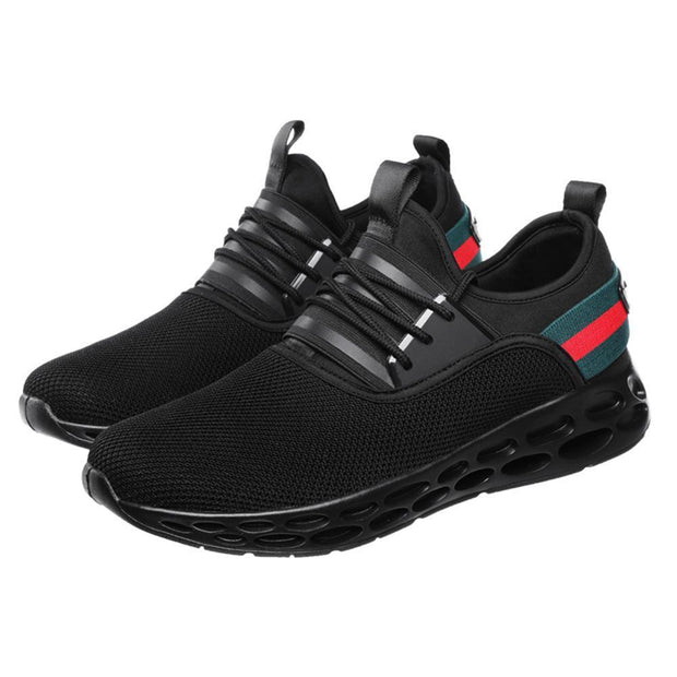 Men Walking Outdoor Shoes Blade Slip On Casual Fashion Sneakers 128892 Black / Us 6.5