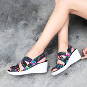 Summer Women Sandals Breathable Wedges Shoes 128287