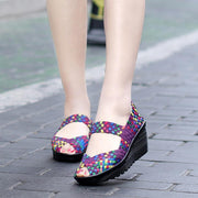 Wedges Shoes Women High Heels Sandals Summer Platform 127086
