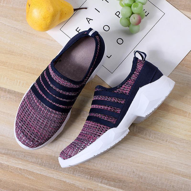 Women Flats Slip-On Loafers Summers Sport Shoes Big Size 35-46 128228