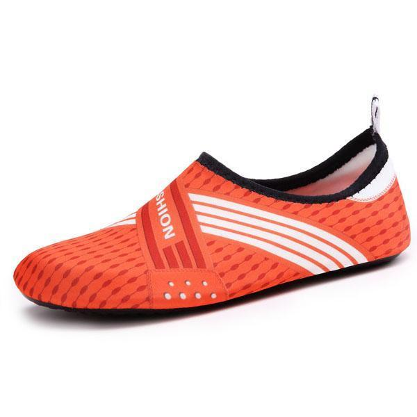 Mens Comfortable Fashion Casual Sports Shoes Swimming Fitness 129052 Orange Red / Us 6.5 Men Shoes