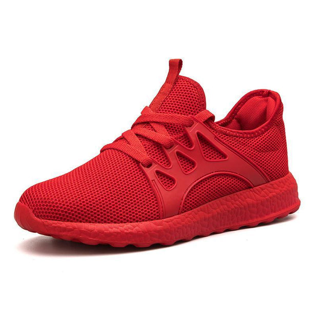 Mens Casual Fashion Comfortable Breathable Sneakers 129220 Red / Us 6.5 Men Shoes