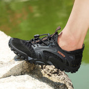 Mens Breathable Mesh Casual Light Outdoor Hiking Shoessecond -30% By Codebts30 Men Shoes