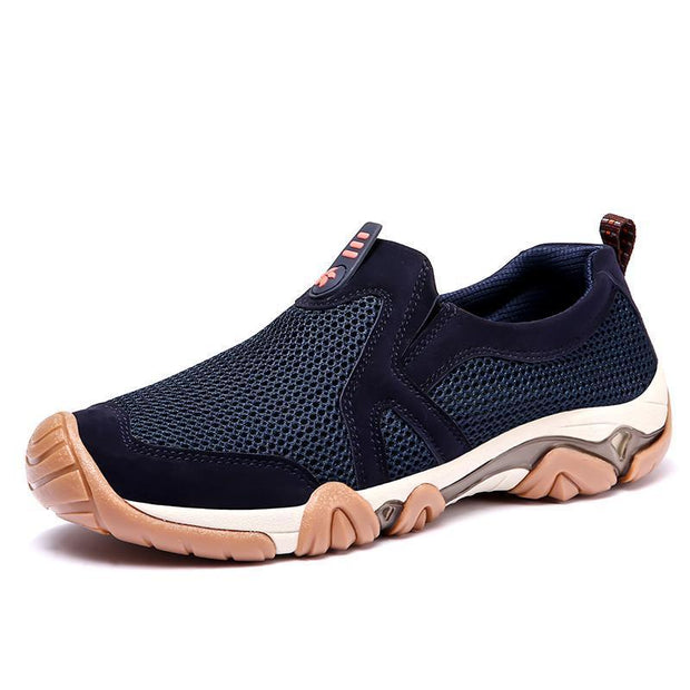 Mens Breathable Recreational Running Shoessecond -30% By Codebts30 131418 Blue / Us 6.5 Men Shoes