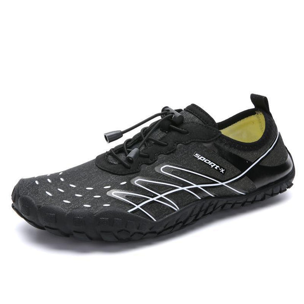 Mens Breathable Non-Slip Fitness Outdoor Water Shoes 131992 Black / Us 6.5 Men