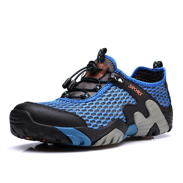 Mens Outdoor Sports Quick Dry Boating Diving Water Shoes 133077 Blue / Us 6 Men