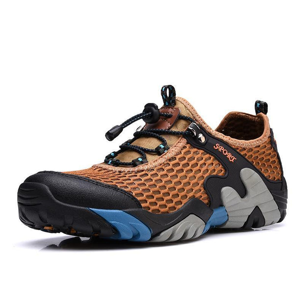 Mens Outdoor Sports Quick Dry Boating Diving Water Shoes 133077 Brown / Us 6 Men