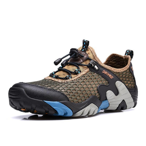 Mens Outdoor Sports Quick Dry Boating Diving Water Shoes 133077 Khaki / Us 6 Men