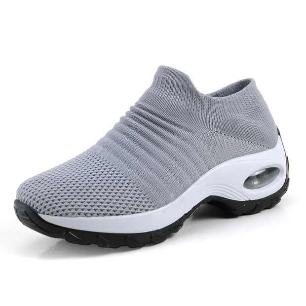 Womens Summer Breathable Soft Air Cushion Sports Shoessecond -30% By Codebts30 133301 Gray / Us 4