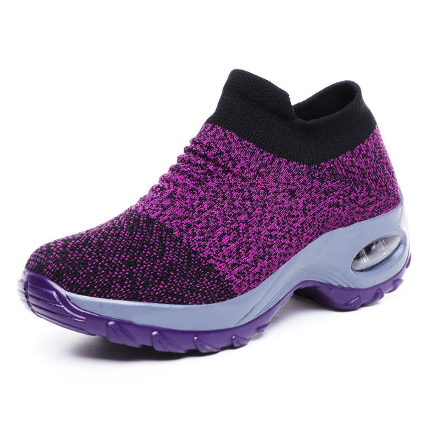 Womens Summer Breathable Soft Air Cushion Sports Shoessecond -30% By Codebts30 133301 Purple / Us 4