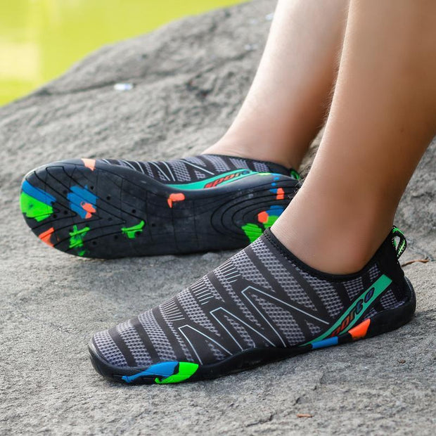 Fashion Womens Quick-Drying Breathable Water Shoes Outdoor Sports Beach Diving Climbing 122147 Women