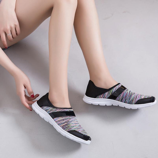 Ladies Outdoor Sports Loafers Sneakers Women Fashion Breathable Casual Shoes 129307