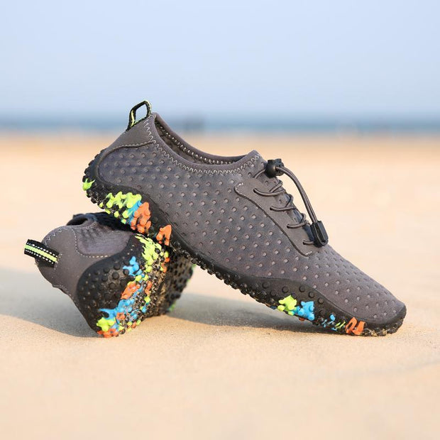 Men Water Shoes Barefoot Quick-Dry Aqua Socks for Beach Swim Surf Yoga Exercise 129865