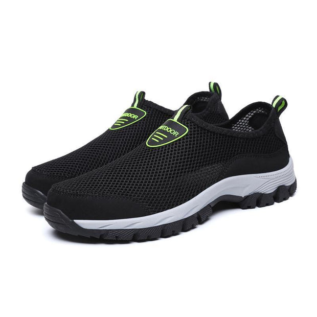 Mens One Foot Outdoor Mesh Handmade Shoes 116434 Men Shoes