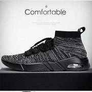 Mens Air Cushion Flying Woven Shoes 119318 Men Shoes
