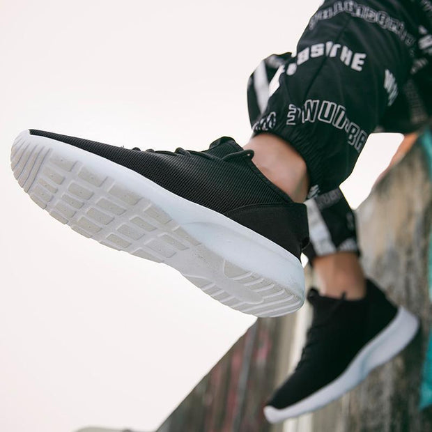 Mens Breathable Casual Shoes Flying Woven Lightweight Outdoor Sneakers Fashion Low-Help 122395 Men