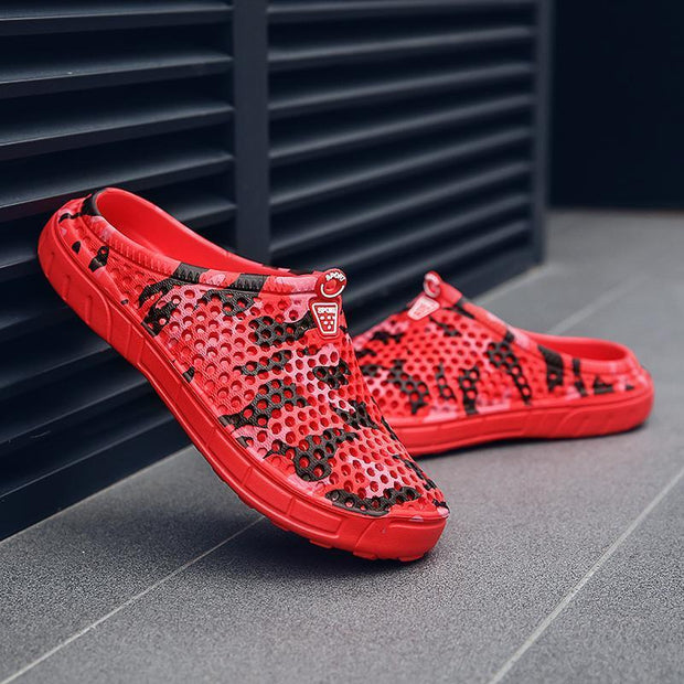 Mens Hole Shoes Sandals Slippers 118233 Men Shoes