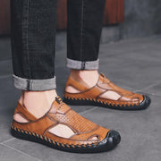 Mens Casual Fashion Comfortable Outdoor Beach Shoes Hollow Sandals 124813 Men Shoes