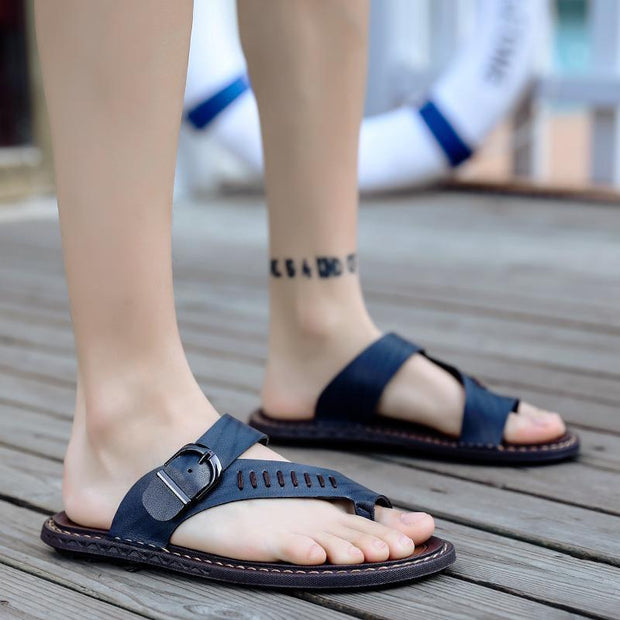 Men's casual trend beach shoes slippers sports 126315