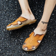 Men's Comfortable Leather Casual Sandals 122097