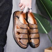 Mens Handmade Shoes Leisure Outdoor Breathable Sandals Quality Mens 128000 Men Shoes