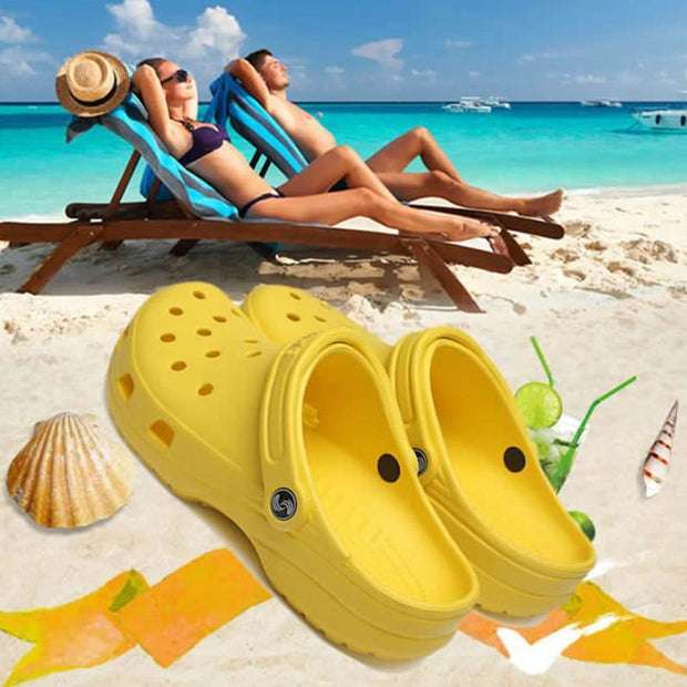 New Mens Hole Shoes Beach Couple Sandals Casual Garden Jelly 122056 Men