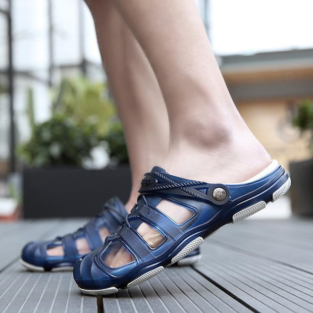 Mens Hole Shoes Sandals Slippers 118675 Men Shoes