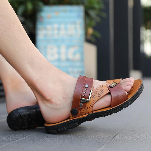 Mens Fashion Slippers 118329 Men Shoes