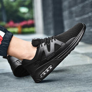 New Mens Lightweight Air Cushion Casual Shoes Shock Absorption Anti-Skid Sneakers Mesh Sports 122248