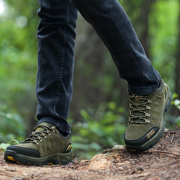 Mens Mesh Hiking Shoes Outdoor Leisure Breathable 123554 Men Shoes