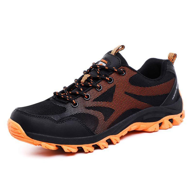 Mens Outdoor Hiking Shoes Non-Slip Breathable Flying Woven Casual 123496 Men Shoes