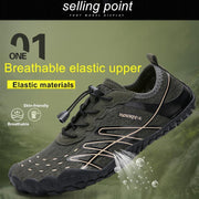 Mens Breathable Non-Slip Fitness Outdoor Water Shoes Men