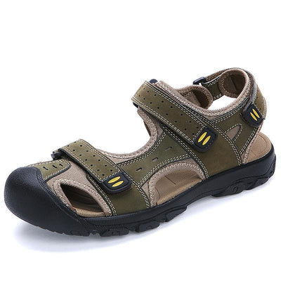 Mens Outdoor Soft Bottom Casual Hiking Sandals Men Shoes