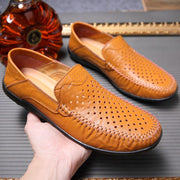 Mens Shoes Hollowed Out Peas Casual 123933 Men
