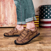 Mens Stitching Soft Sole Flat Shoes Outdoor Casual Loafers 121163 Men