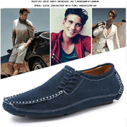 Mens Shoes Casual Fashion Peas Suede Leather Loafers Moccasins Flats Driving 119660 Men