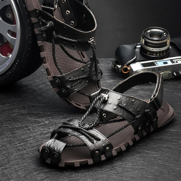Mens Summer Breathable Comfortable Sandals And Slippers 130197 Men Shoes