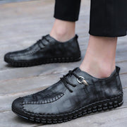 Mens Summer Loafers Lace Up Casual Big Size Shoes 132918 Men Shoes