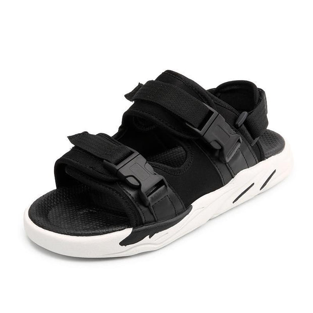 New Mens Fashion Wear-Resistant Anti-Slip Sandals Velcro Comfortable Slippers Beach Shoes 122270 Men