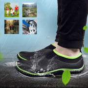 Waterproof Mens Garden Shoes Outdoor Rain Boots Car Wash Neoprene Footwear 127968 Men