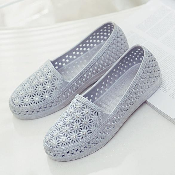 New Fashion Female Hollow Shoes More Color Choice Women Flat 124963