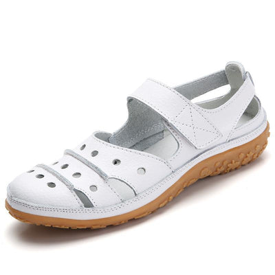 Womens Flat Soft Non-Slip Comfort Hole Sandals Women Shoes