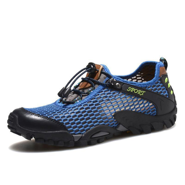 Mens Summer Breathable Mesh Leisure Athletic Shoes 135030 Blue / Us 5 Men