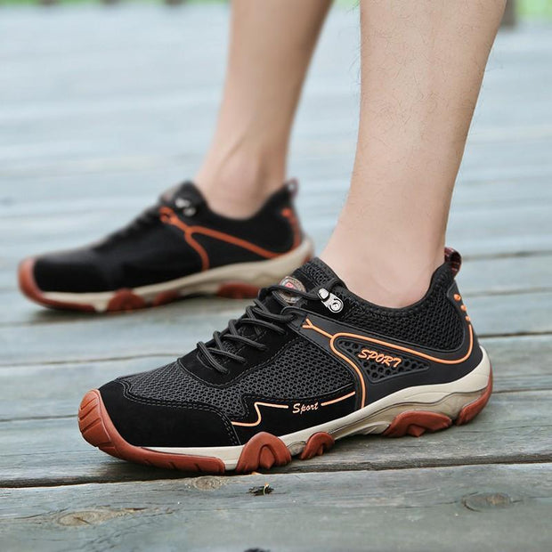 Mens Summer Breathable Comfort Leisure Sports Shoes Men