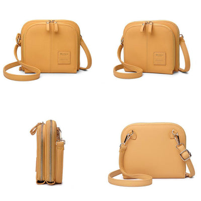 Classic Solid Color Crossbody Shoulder Bagsecond -30% By Codebts30 Handbags