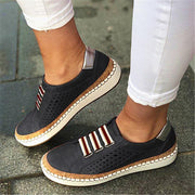 Women Hollow Out Round Toe Leisure Flats Shoessecond -30% By Codebts30 Shoes