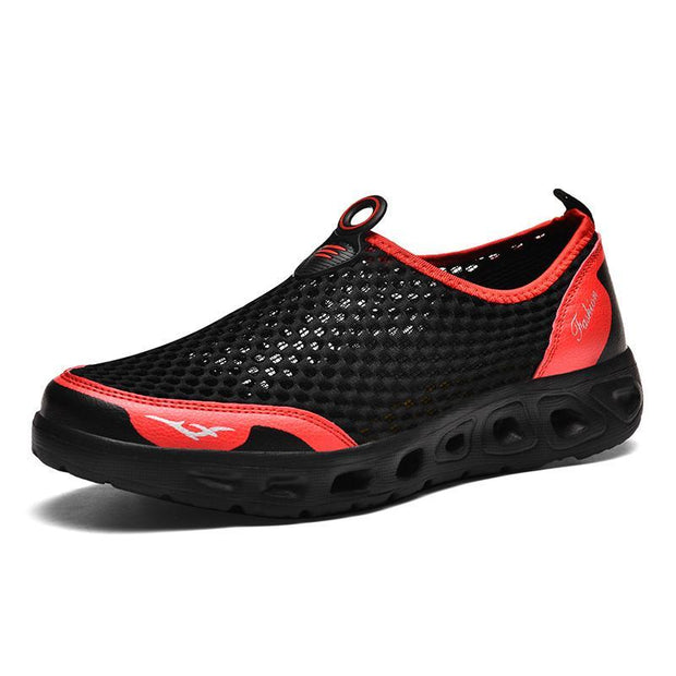 Men Honeycomb Mesh Quick Drying Beach Shoessecond -30% By Codebts30 122637 Black / Us 6.5 Shoes