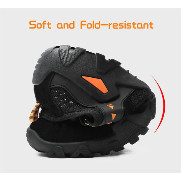 Men Hiking Outdoor Breathable Hollow Mesh Wear-Resistant Climbing Shoes